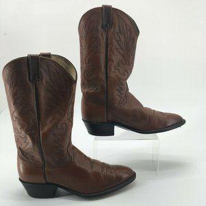 Dan Post Mens 11.5EW Mid Western Cowboy Boots Brow